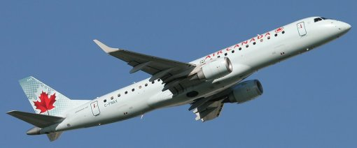 E190 Air Canada C-FNAX - Real aircraft