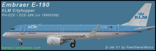 E190 KLM PH-EZE (real)