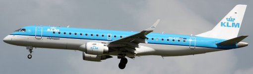 E190 KLM City Hopper - Real PH-EZE