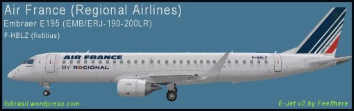 E195 Air France F-HBLZ
