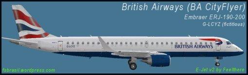 E195 BA CityFlyer G-LCYZ
