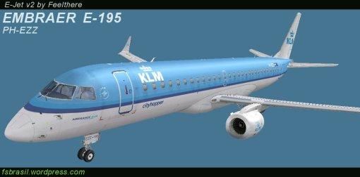 E195 KLM PH-EZZ