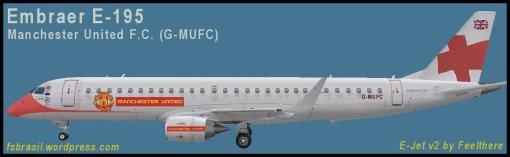 E195 Manchester United G-MUFC