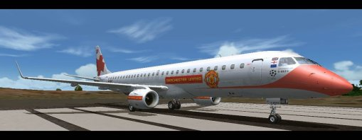 E195 Manchester United G-MUFC