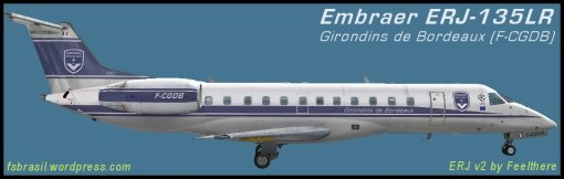 EMB ERJ135LR Girondins de Bordeaux F-CGDB