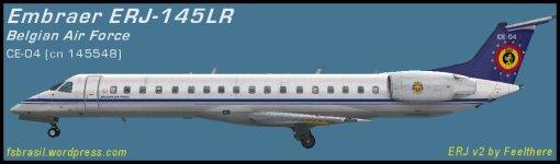 EMB ERJ145LR Belgian Air Component CE-04
