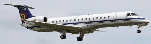 EMB ERJ145LR Belgian Air Component (real CE-04)