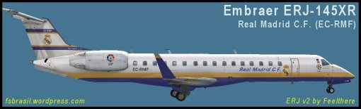EMB ERJ145XR Real Madrid EC-RMF