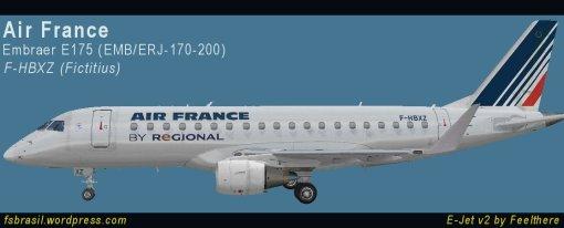 E175 Air France - F-HBXA
