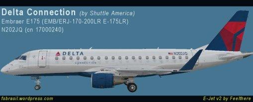 E175 Delta N202JQ