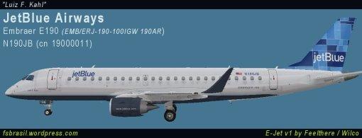 E190 JetBlue N190JB