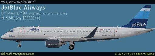 E190 JetBlue N192JB