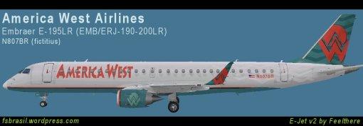 E195 America West N807BR