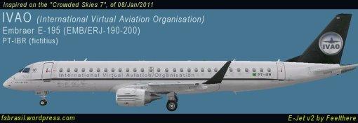 E195 IVAO PT-IBR