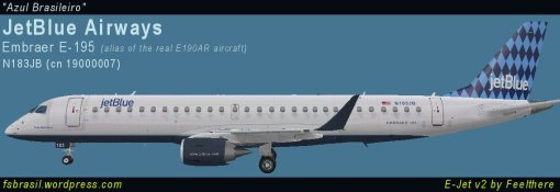 E195 JetBlue N183JB