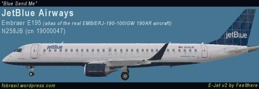 E195 JetBlue N258JB