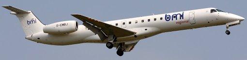ERJ145LR BMI Regional - Real aircraft (G-EMBJ)