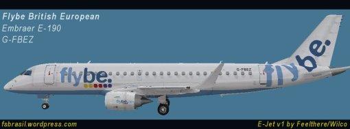 E190 Flybe G-FBEZ