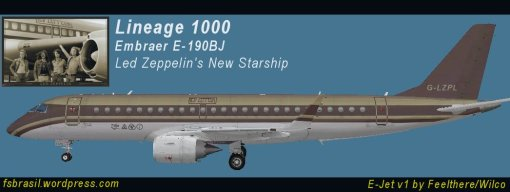 Lineage1000 - Led Zeppelin New Starship (G-LZPL)