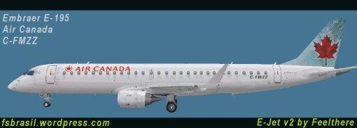 Embraer E-195 // Air Canada (C-FMZZ)
