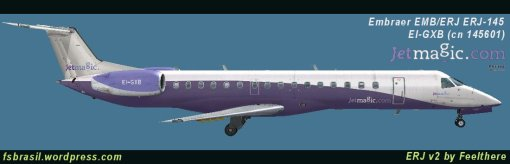 ERJ145LR JetMagic (Repaint of the real aircraft - EI-GXB)