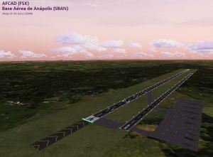 SBAN - Anapolis Air Base (AFCAD for FSX)